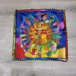 Laurel Burch  Sun and People Scarf